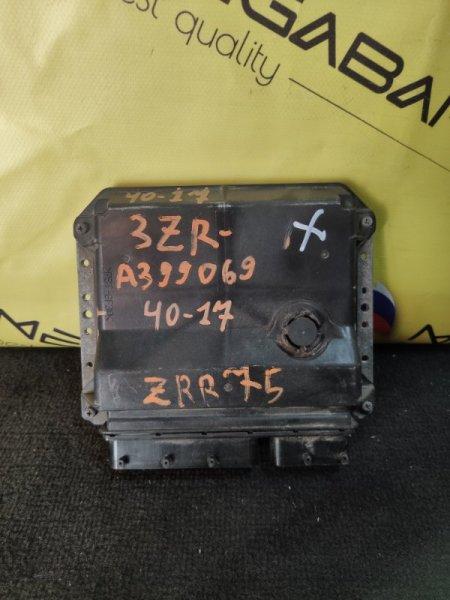 Блок efi Toyota Voxy ZRR75 3ZR-FAE (б/у)