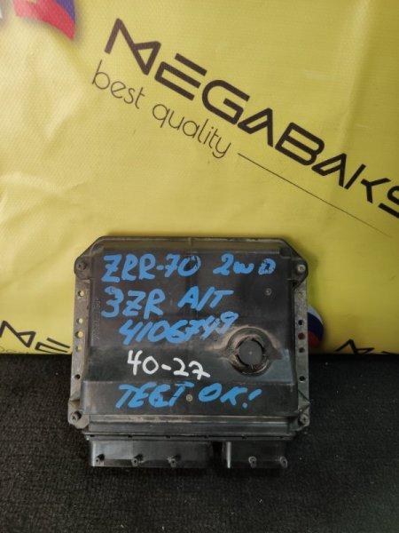 Блок efi Toyota Noah ZRR70 3ZR-FE 89661-28C61 (б/у)