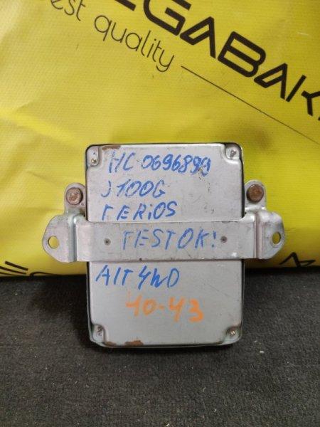 Блок efi Daihatsu Terios J100G HC 112000-5053 (б/у)