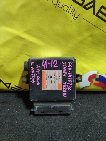 Блок efi Suzuki Jimny JB23W K6A F120-222 (б/у)