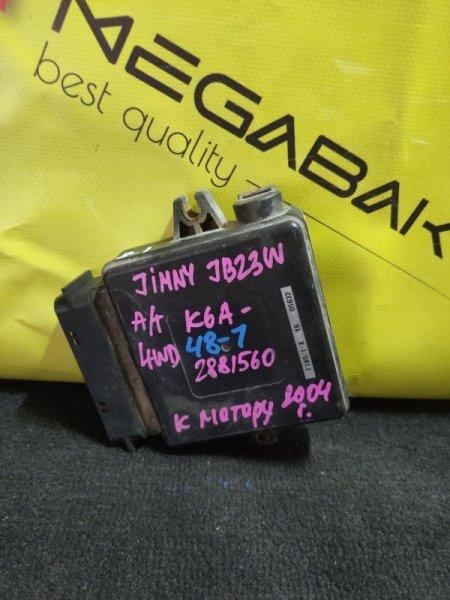 Блок efi Suzuki Jimny JB23W K6A F180-701 (б/у)