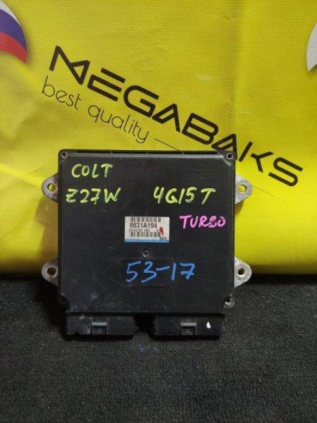 Блок efi Mitsubishi Colt Z27W 4G15T (б/у)