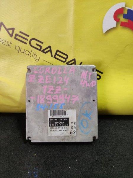 Блок efi Toyota Corolla ZZE124 1ZZ-FE 89661-1E620 (б/у)