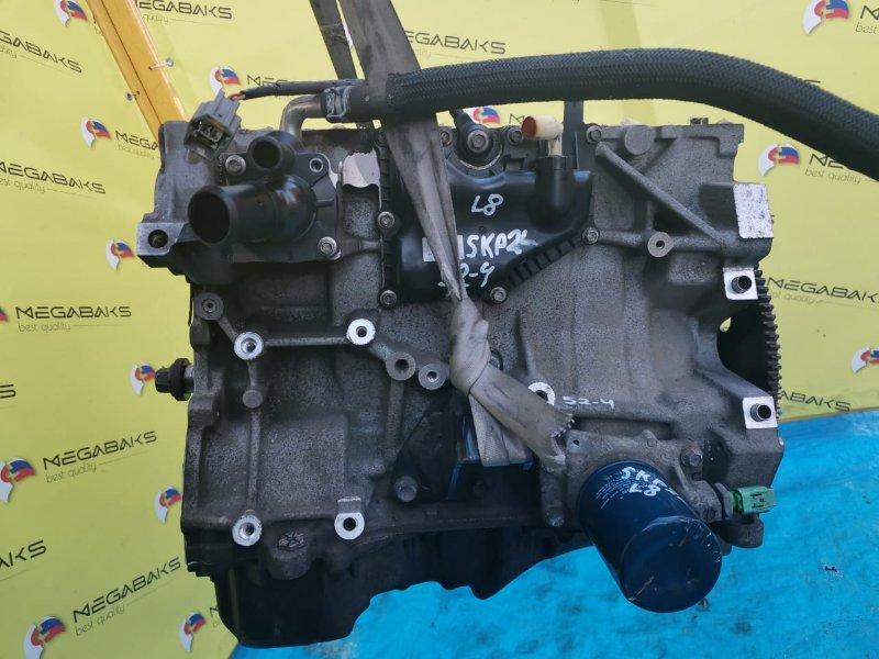 Блок двигателя Mazda Bongo SKP2L L8 (б/у)