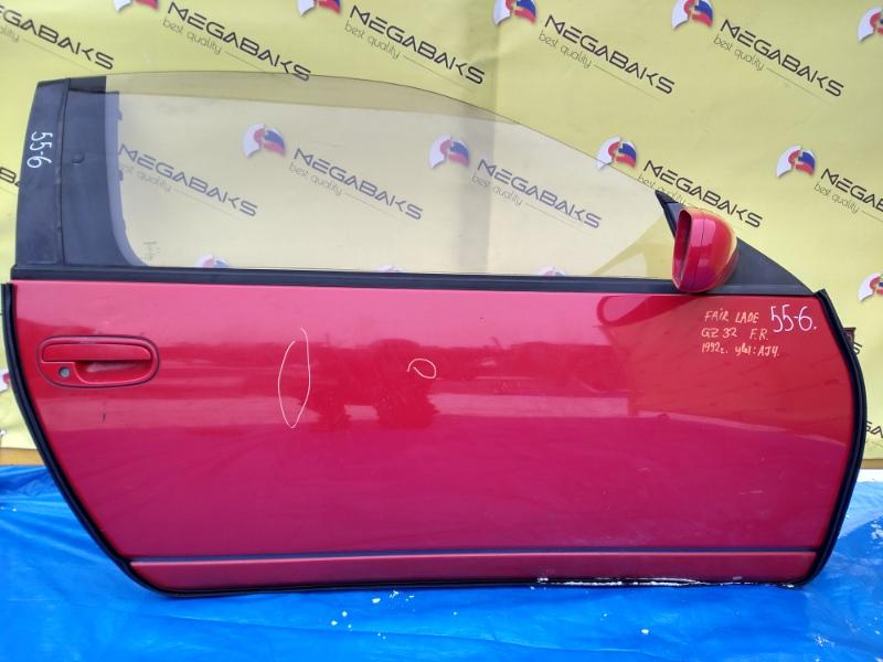 Дверь Nissan Fairlady Z CZ32 1992 передняя правая (б/у)