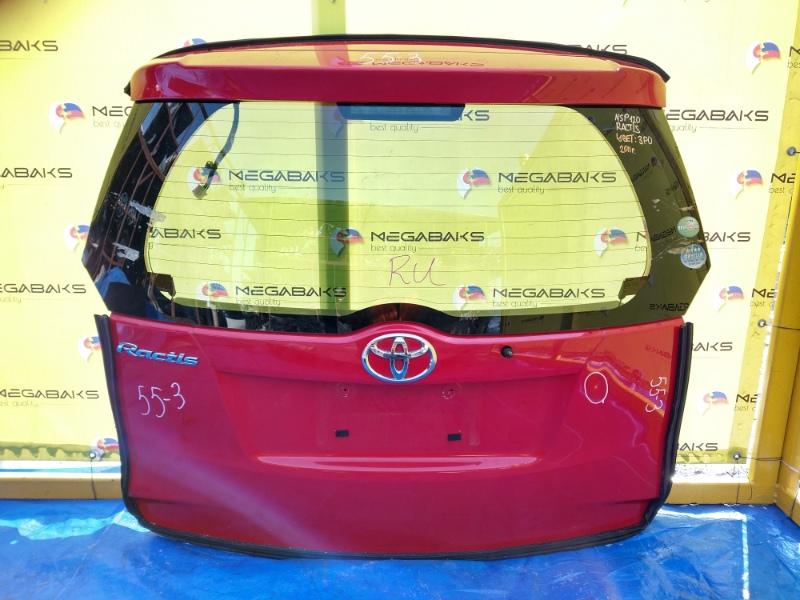 Дверь задняя Toyota Ractis NCP120 (б/у)