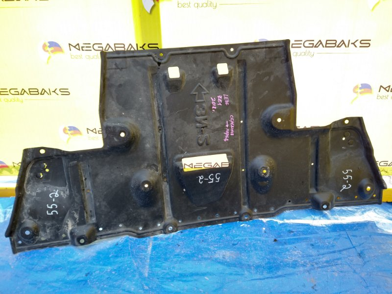 Защита двигателя Nissan Leaf ZE1 (б/у)