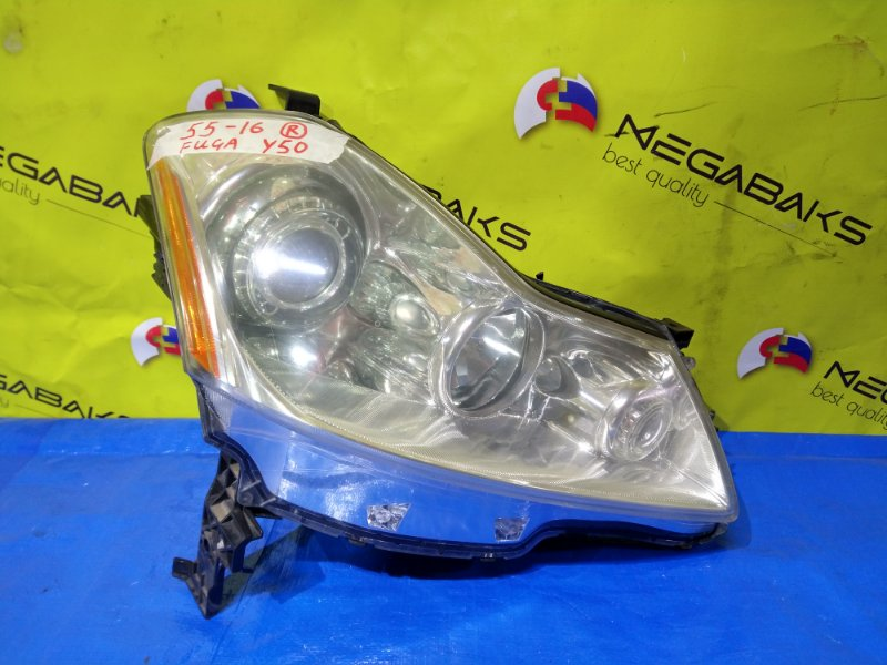 Фара Nissan Fuga PY50 правая P4790 (б/у)