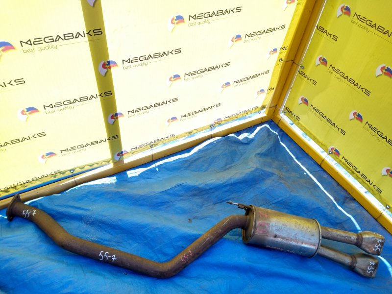 Глушитель Nissan Elgrand NE51 TUNING (б/у)