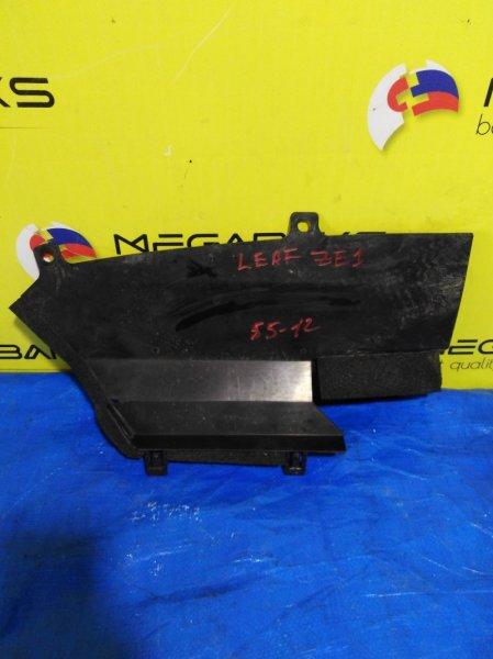 Защита радиатора Nissan Leaf ZE1 правая (б/у)