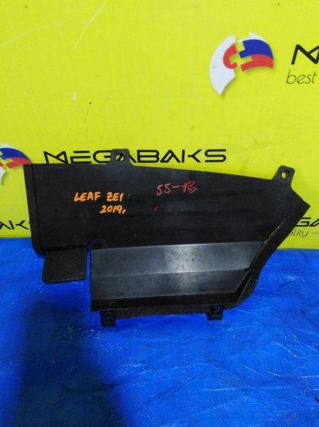 Защита радиатора Nissan Leaf ZE1 левая (б/у)