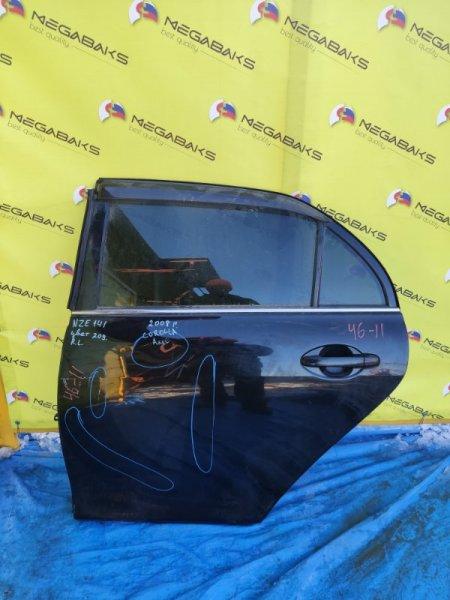 Дверь Toyota Corolla Axio NZE144 1NZ-FE задняя левая (б/у)