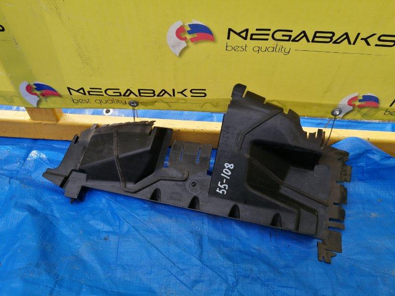 Защита радиатора Peugeot 3008 T84E EP6CDT 2010 передняя правая 7104JV (б/у)