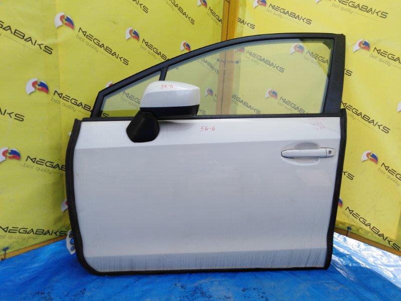 Дверь Subaru Impreza Wrx VAB передняя левая (б/у)