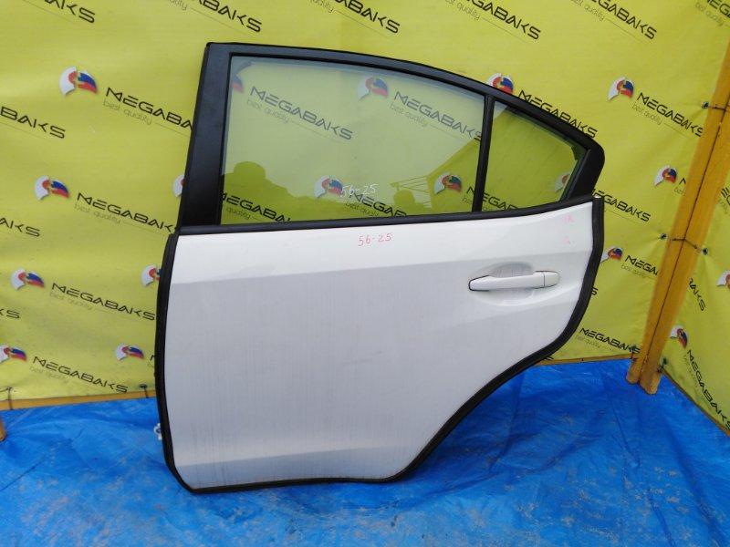 Дверь Subaru Impreza Wrx VAB задняя левая в сборе как на фото (б/у)