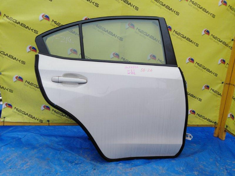 Дверь Subaru Impreza Wrx VAB задняя правая (б/у)