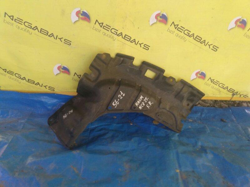 Защита двигателя Toyota Raum NCZ20 правая (б/у)