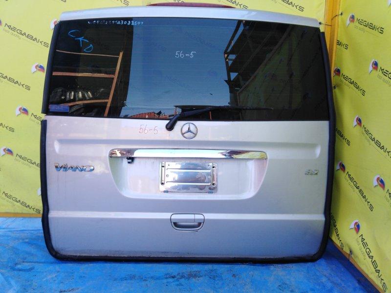 Дверь задняя Mercedes-Benz Viano W639 2003 задняя левая (б/у)