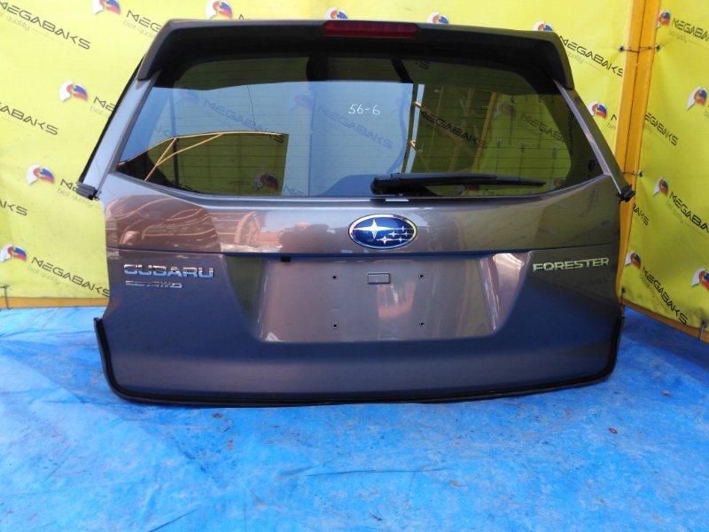 Дверь задняя Subaru Forester SJ5 ЭЛЕКТРО ДОВОДЧИК (б/у)