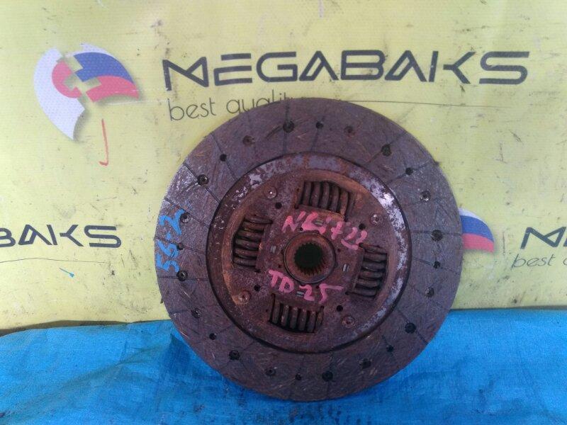 Диск сцепления Nissan Atlas N4F23 TD25 (б/у)