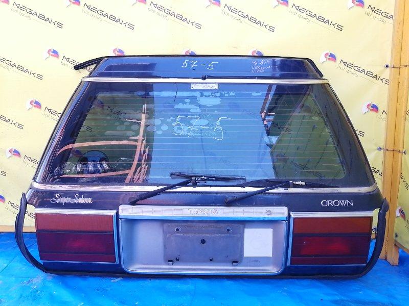Дверь задняя Toyota Crown GS130G (б/у)