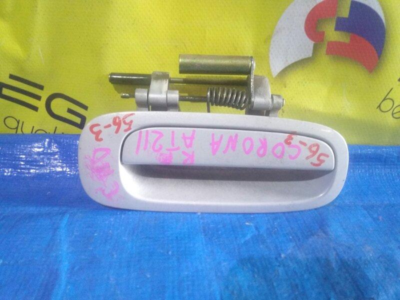 Ручка двери Toyota Premio AT210 задняя правая (б/у)