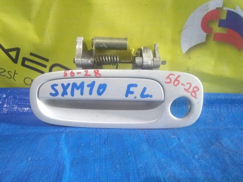 Ручка двери Toyota Ipsum SXM10 передняя левая (б/у)