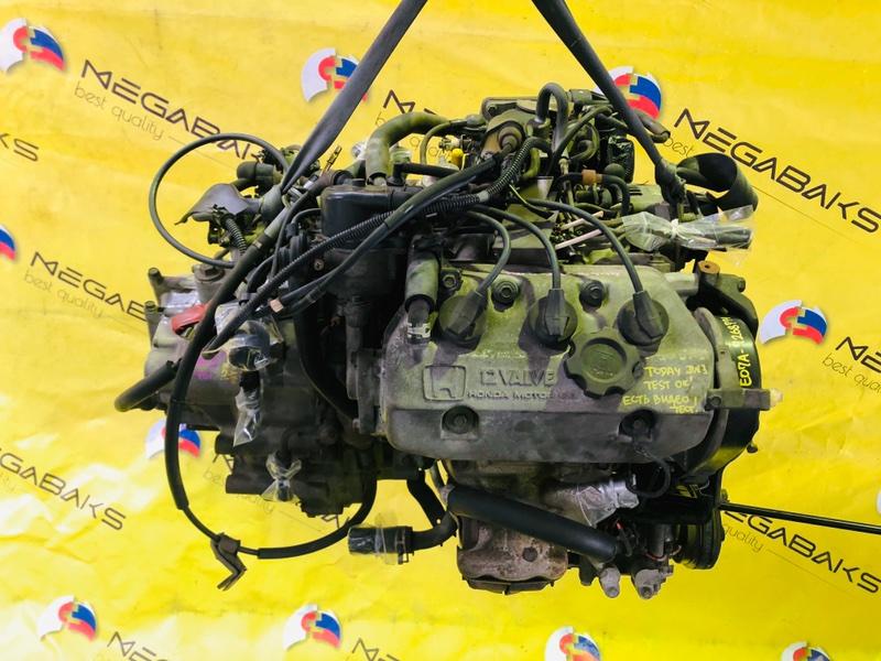 Двигатель Honda Today JW3 E07A 1996 7268771 (б/у)