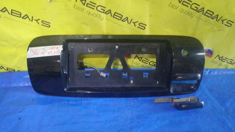 Накладка 5-й двери Toyota Carib AE111 (б/у)