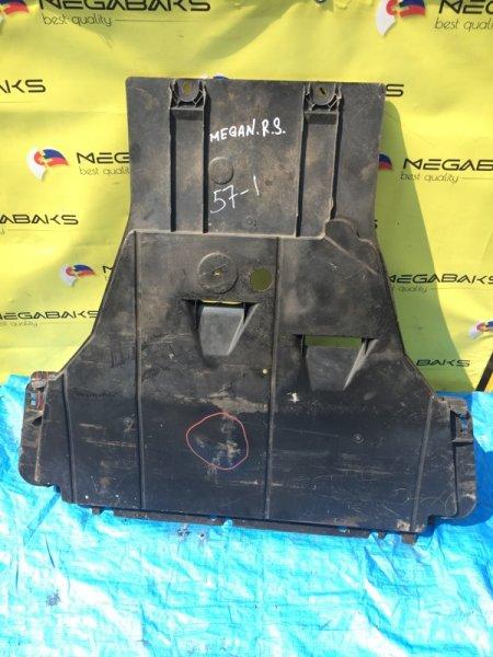 Защита двигателя Renault Megane III F4R874 (б/у)