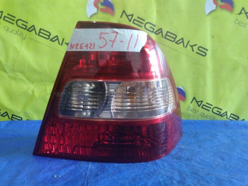 Стоп-сигнал Toyota Corolla NZE124 правый 12-472 (б/у)
