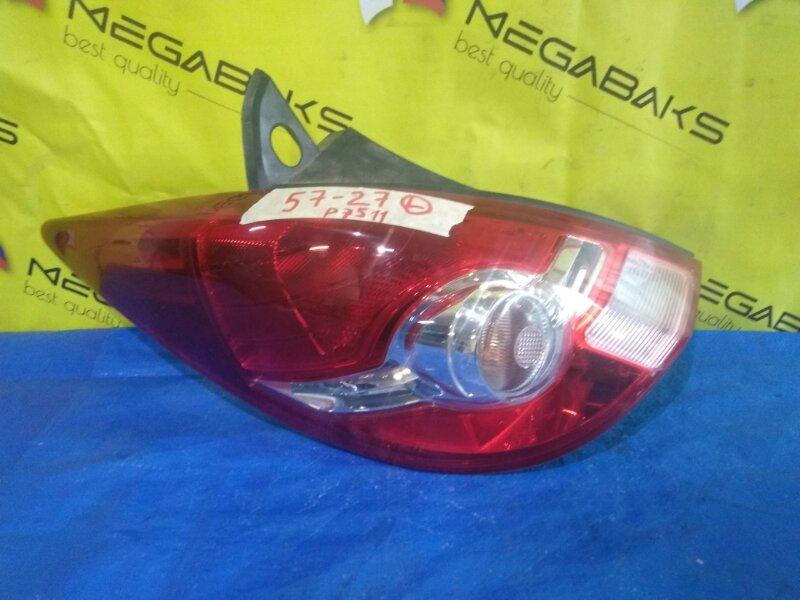Стоп-сигнал Nissan Tiida C11 левый P7511 (б/у)