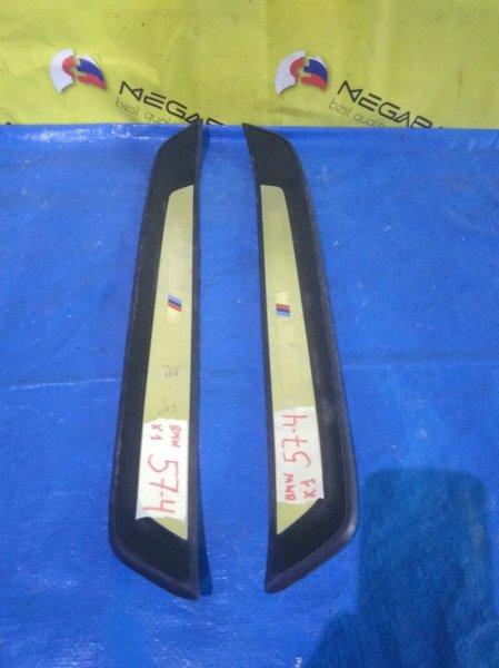 Порожек пластиковый Bmw X1 E84 задний (б/у)