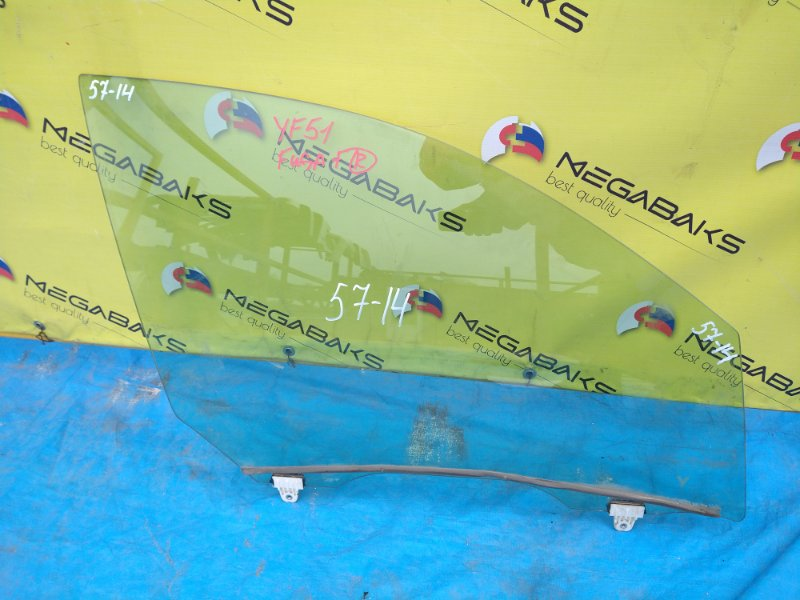 Стекло двери Nissan Fuga Y51 переднее правое (б/у)