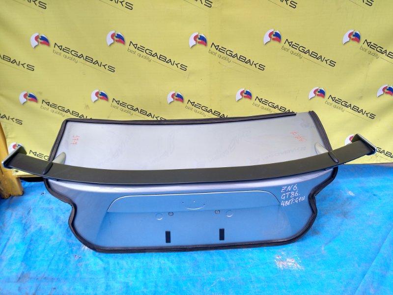 Крышка багажника Subaru Br-Z ZC6 (б/у)