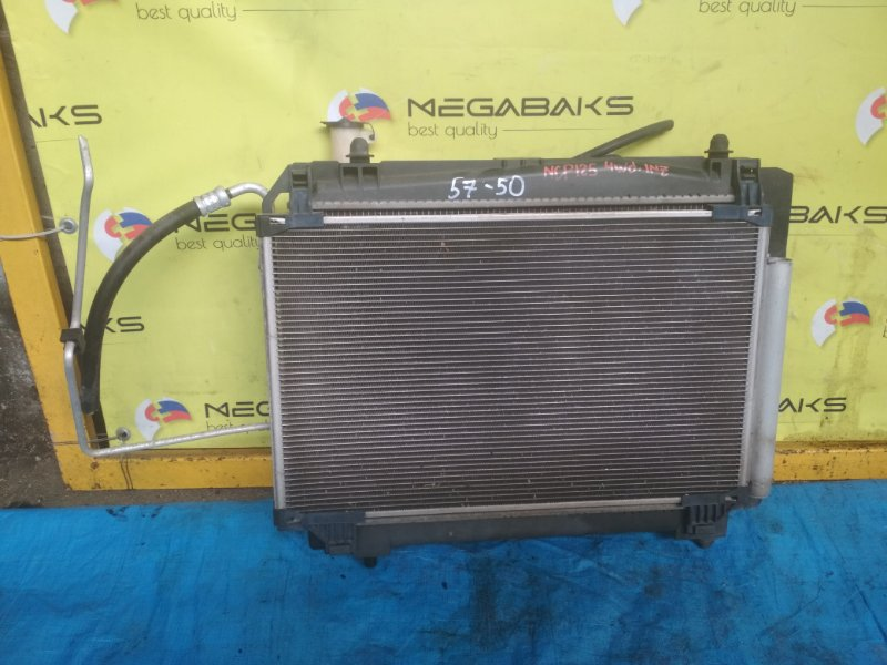 Радиатор основной Toyota Ractis NCP125 1NZ (б/у)