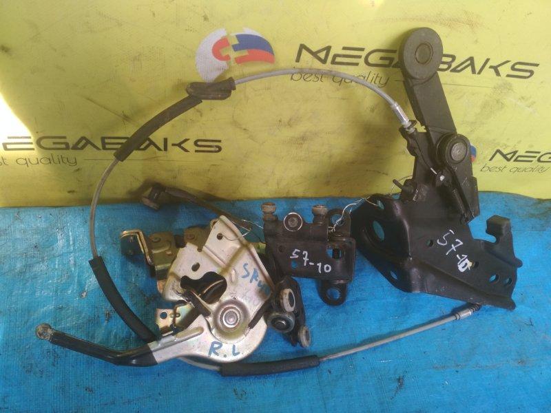 Ролик двери Toyota Noah SR40 задний левый (б/у)