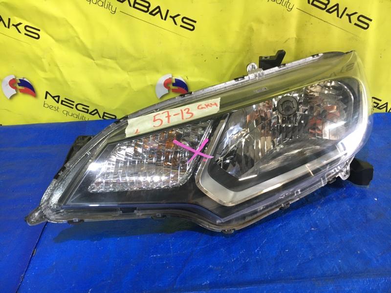 Фара Honda Fit GP5 левая W 0349 (б/у)