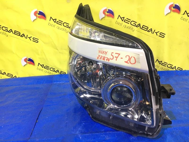 Фара Toyota Voxy ZRR70 правая 28-203 (б/у)