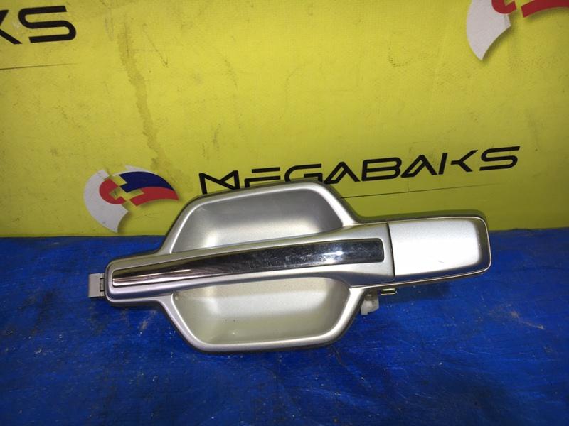 Ручка двери Mitsubishi Pajero V75W задняя правая (б/у)