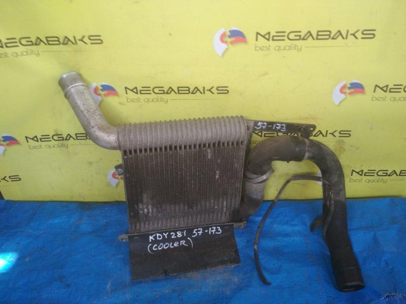 Радиатор интеркулера Toyota Dyna KDY281 1KD-FTV 2007 (б/у)