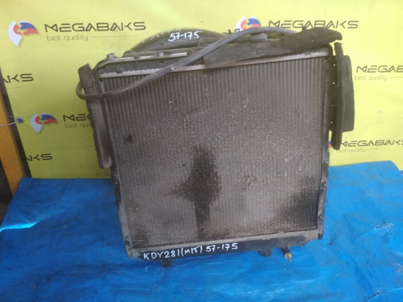 Радиатор основной Toyota Dyna KDY281 1KD-FTV 2007 (б/у)