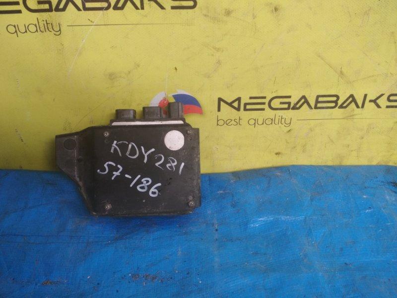 Блок управления форсунками Toyota Dyna KDY221 1KD-FTV 2007 8987125010, 131000-1550 (б/у)