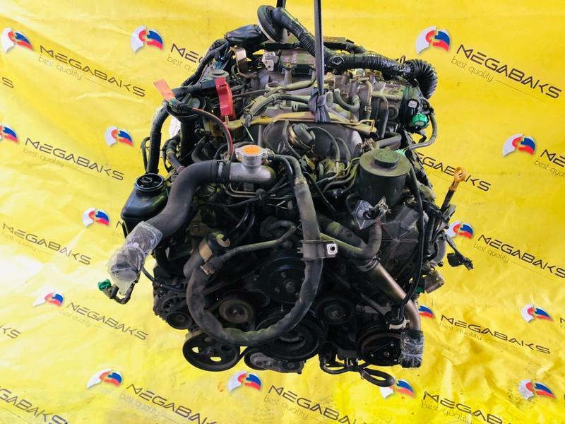 Двигатель Nissan Cima GF50 VK45DD 2001 025166 (б/у)