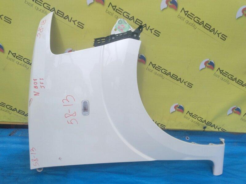 Крыло Honda N-Box JF1 переднее правое + КРЕПЛЕНИЕ БАМПЕРА (б/у)
