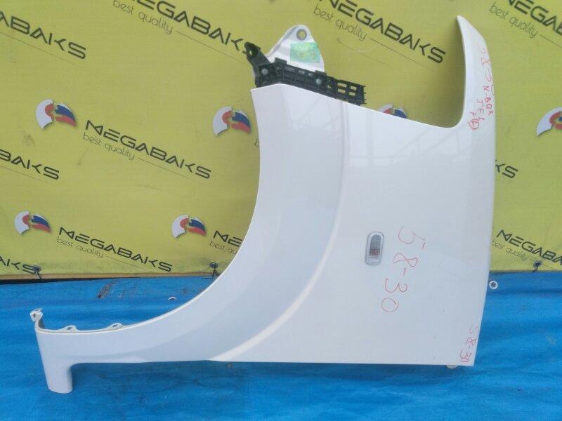 Крыло Honda N-Box JF1 переднее левое + КРЕПЛЕНИЕ БАМПЕРА (б/у)