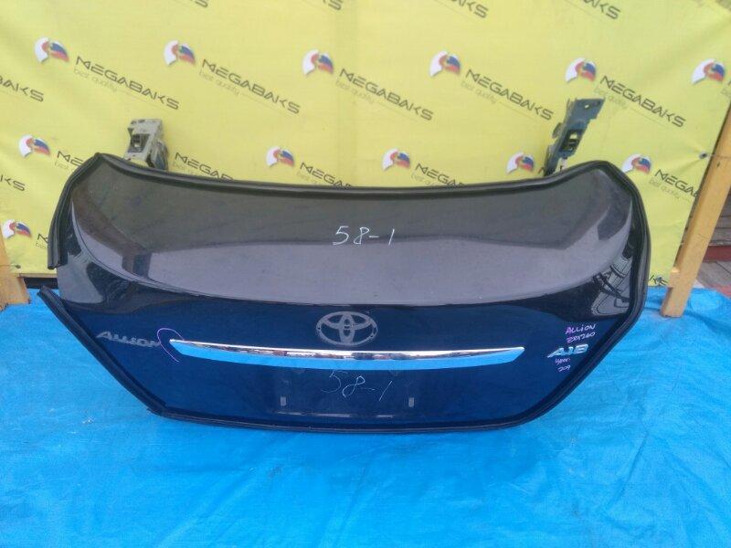 Крышка багажника Toyota Allion NZT260 камера (б/у)