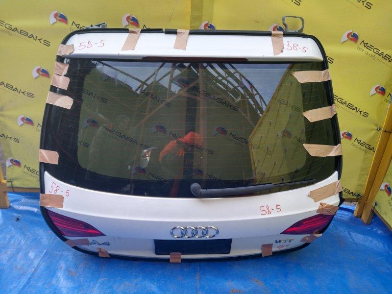 Дверь задняя Audi A4 B8 CDHB 2007 (б/у)