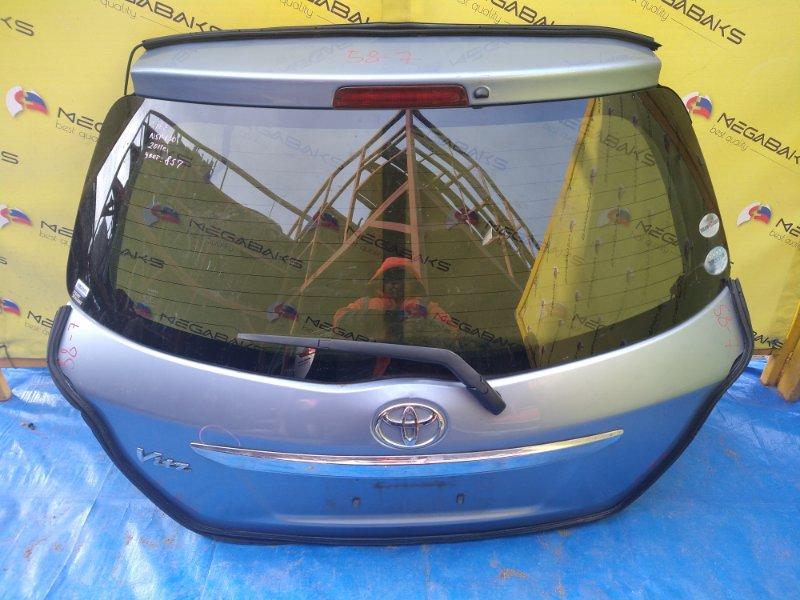 Дверь задняя Toyota Vitz KSP130 2011 (б/у)