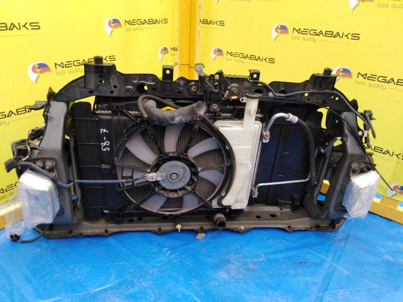 Радиатор основной Toyota Ractis NCP120 1NZ-FE (б/у)